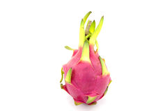 Dragon fruit on white background Royalty Free Stock Image