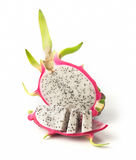 Dragon fruit on white background. Dragon fruit isolated on white background Stock Images