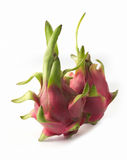 Dragon fruit on white background. Dragon fruit isolated on white background Royalty Free Stock Image