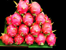 Dragon fruits. Can be eaten as fresh fruits or mixture of fruit salad Royalty Free Stock Photos