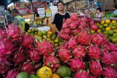 Dragon Fruits Fotografering för Bildbyråer