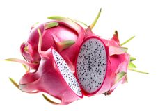 Dragon Fruits. Isolated close-up image of Dragon Fruits Stock Images