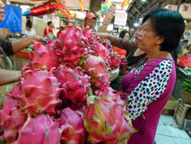 Dragon Fruits Arkivfoton