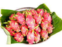 Dragon fruits. Can be eaten as fresh fruit , fruit salad and herbs Stock Photography