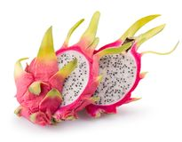 Free Dragon Fruits Isolated On A White Background Stock Image - 104777251