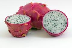 Dragon fruits on white Stock Image