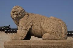 Dragon Gate Statue Seoul, Südkorea Lizenzfreie Stockbilder
