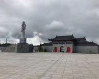 Dragon Gate, Suécia Arquitetura do chinês de Taditional foto de stock