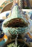 Dragon of Gaudi. Barcelona stock photography