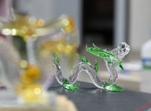 Dragon glass Stock Images