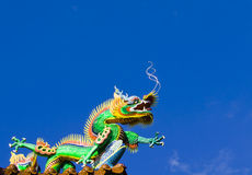 Dragon is going to fly. Royalty Free Stock Image