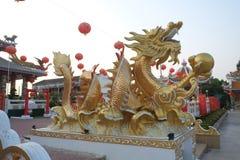 Dragon Gold Foto de Stock