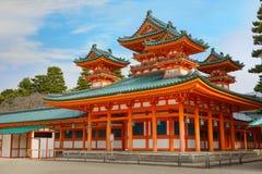 The Dragon Hall at Heian-jingu Shrine in Kyoto. Japannn Stock Photo