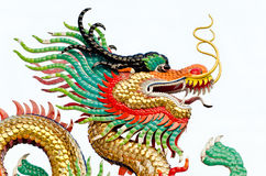 Dragon head. Stock Photos