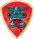 Dragon head Royalty Free Stock Images