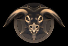 Dragon Head Concept Images libres de droits