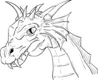 Dragon head Royalty Free Stock Photography