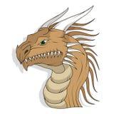 Dragon head stock illustration