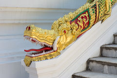 Dragon Head Statue Royalty Free Stock Photo