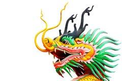 Dragon head statue Royalty Free Stock Photo