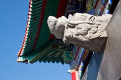 The Dragon head Temple Stock Images
