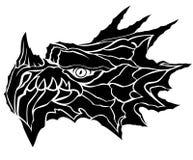 Dragon head vector. In eps10 Stock Photos