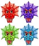 Dragon Heads Photos stock