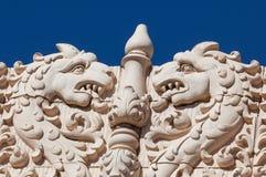 Dragon Heads Lizenzfreie Stockbilder
