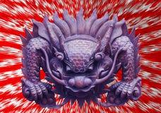 Dragon`s head Stock Photo