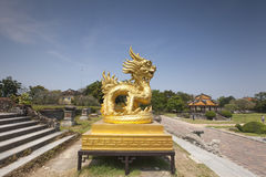 Dragon in Hue Citadel Royalty Free Stock Photography