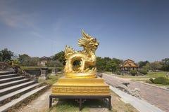 Dragon in Hue Citadel Royalty Free Stock Photography