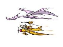 Dragon hunter Royalty Free Stock Photography