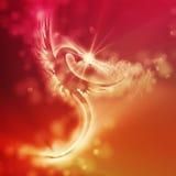 Dragon illustration Royalty Free Stock Image