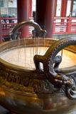 Dragon Incense Pot Photo stock