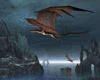 Dragon Islands Stock Photo