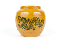 Dragon jar Stock Photo
