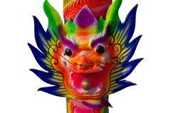 Dragon Joss Stick Stock Photography