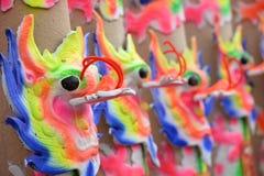 Dragon joss sticks Stock Image