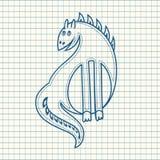 Dragon Jouet de chéri Photographie stock