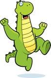 Dragon Jumping Royalty Free Stock Photo
