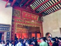 Dragon Kammalawat Temple, Banguecoque Tailândia foto de stock royalty free