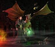 Dragon Keeper Royalty Free Stock Image