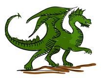 Dragon kids sketch Stock Photo