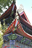 The dragon king temple architectural details Royalty Free Stock Images