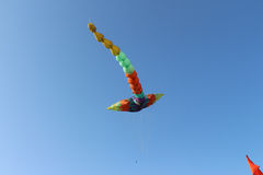 Dragon Kite flying Stock Images
