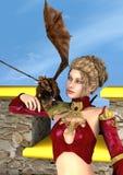 Dragon Lady Imágenes de archivo libres de regalías