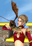 Dragon Lady Imagens de Stock Royalty Free