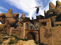 Dragon Land 3 Immagine Stock Libera da Diritti