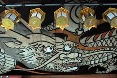 Dragon lantern Royalty Free Stock Images
