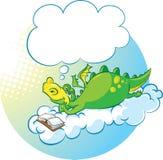 Dragon le rêveur Illustration Libre de Droits